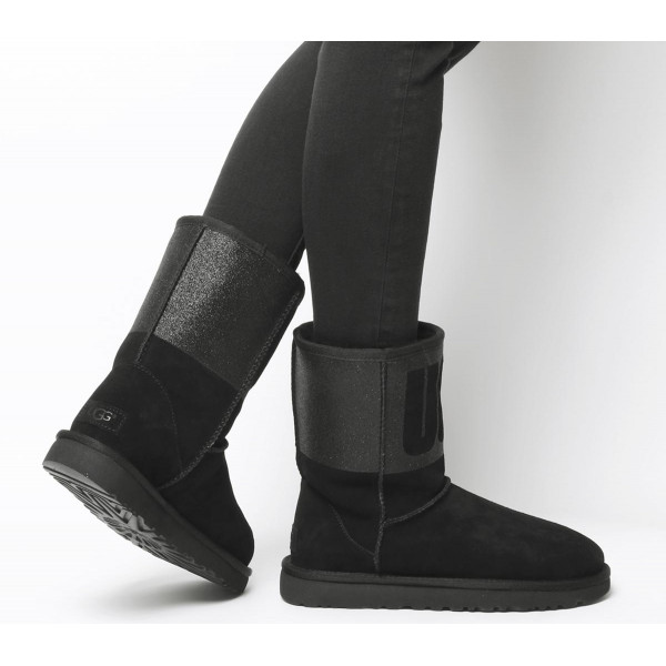 Classic Short Ugg Rubber Boots